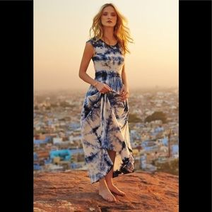 Anthropologie skycaps maxi dress BNWT